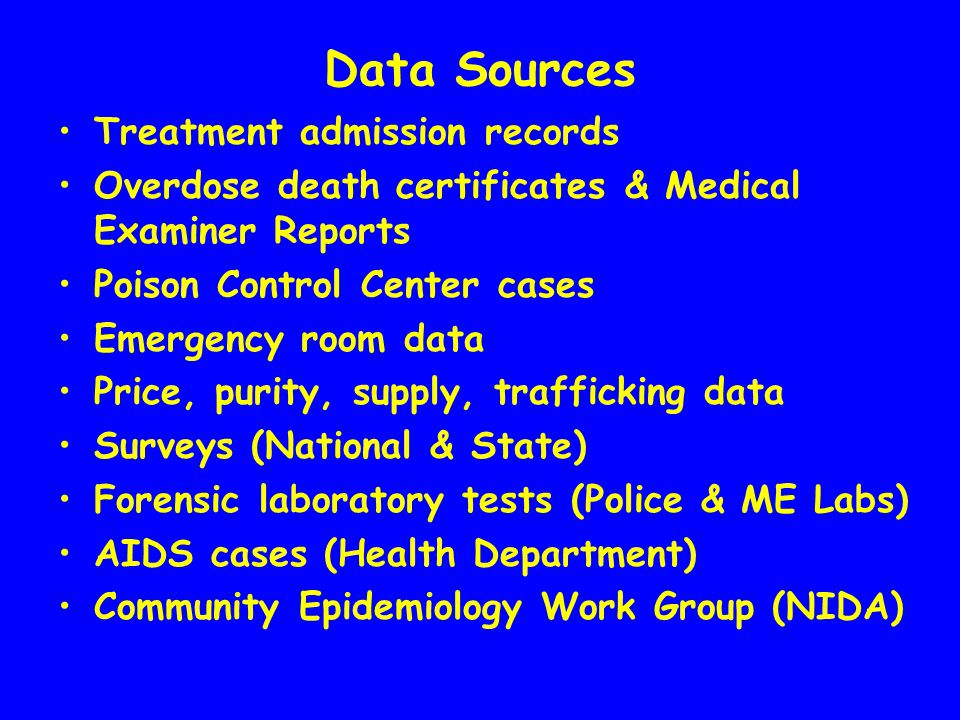 Using Data to Document the Need for Methamphetamine Services Jane C.