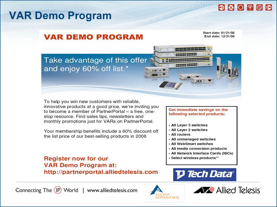 VAR Demo Program