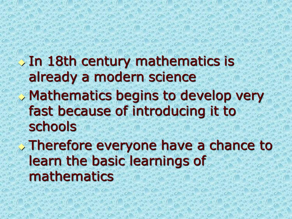  It is also interesting to say the difference between Laplace and Lagrange  For Laplace, mathematics was merely a kit of tools used to explain nature  To Lagrange, mathematics was a sublime art and was its own excuse for being