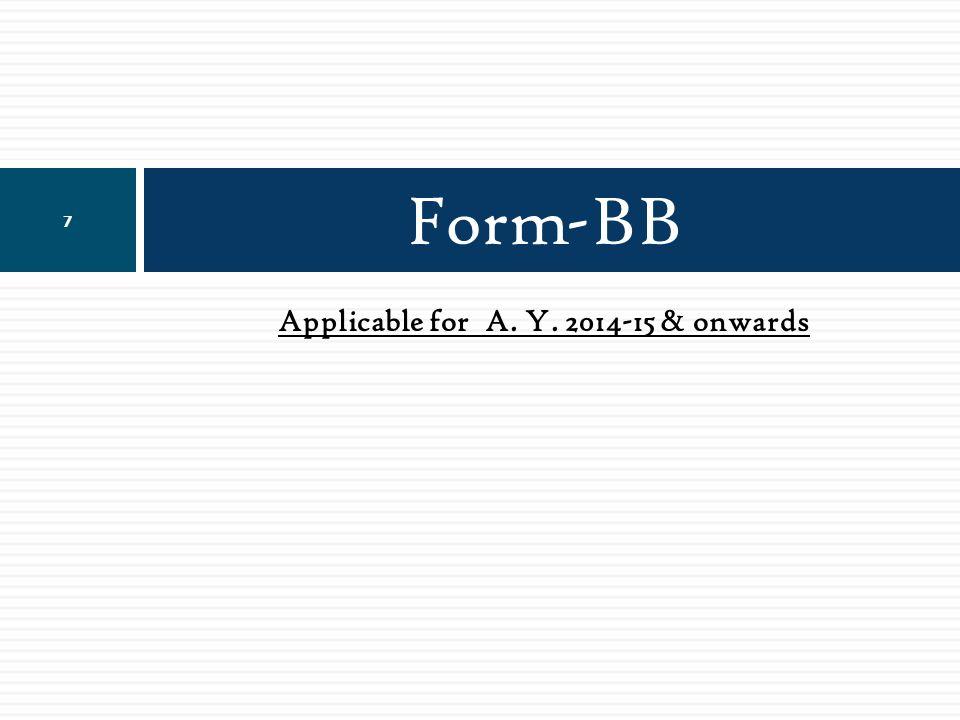 Form- BB….. 18