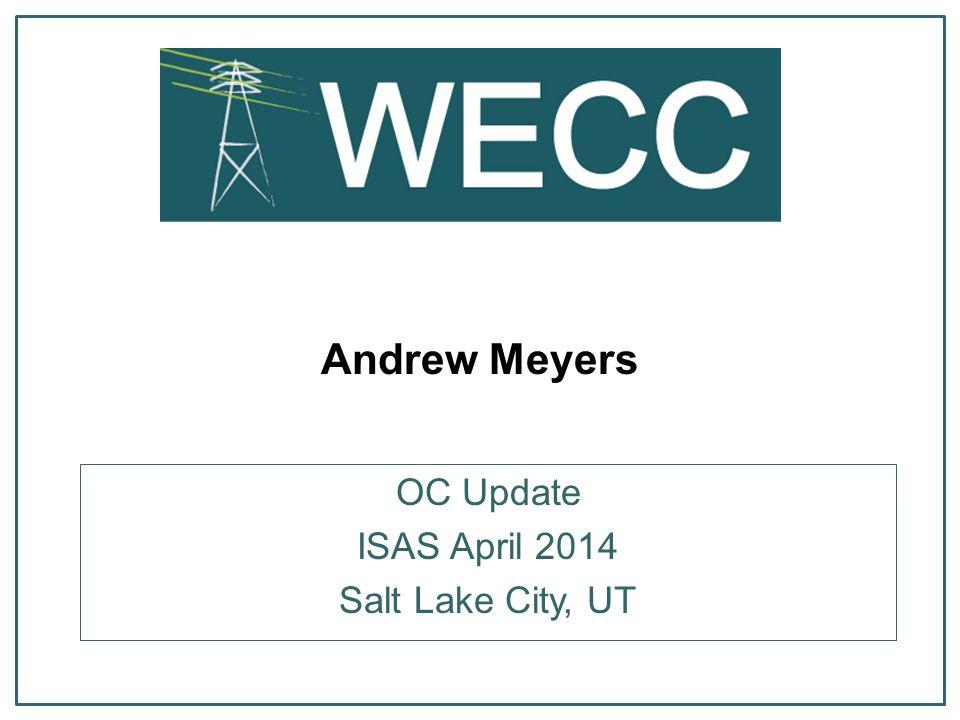 12 Peak MAC Update o Finalized charter & principals posted PEAK MAC Update