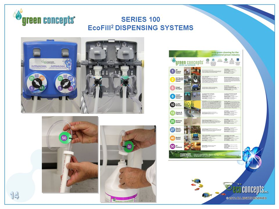 SERIES 100 EcoFill 2 DISPENSING SYSTEMS