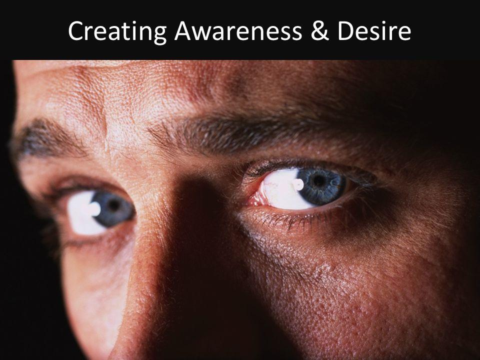 Creating Awareness & Desire