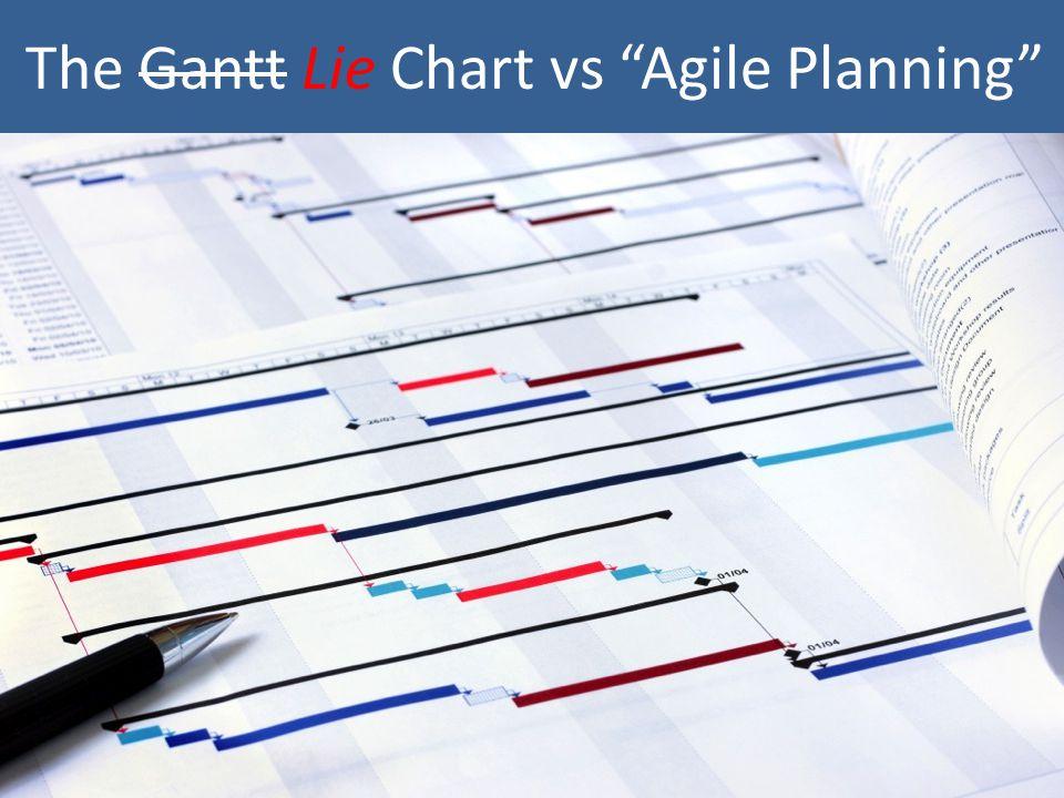 The Gantt Lie Chart vs Agile Planning