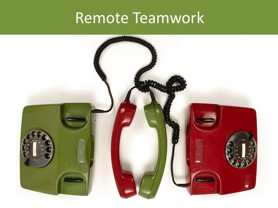 Remote Teamwork