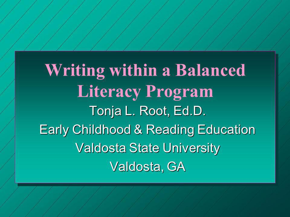 Guided Writing or Writing Workshop ¯ ¯ Increases writers abilities to use different forms ° ° Builds ability to write words & use punctuation ± ± Fosters creativity & ability to compose