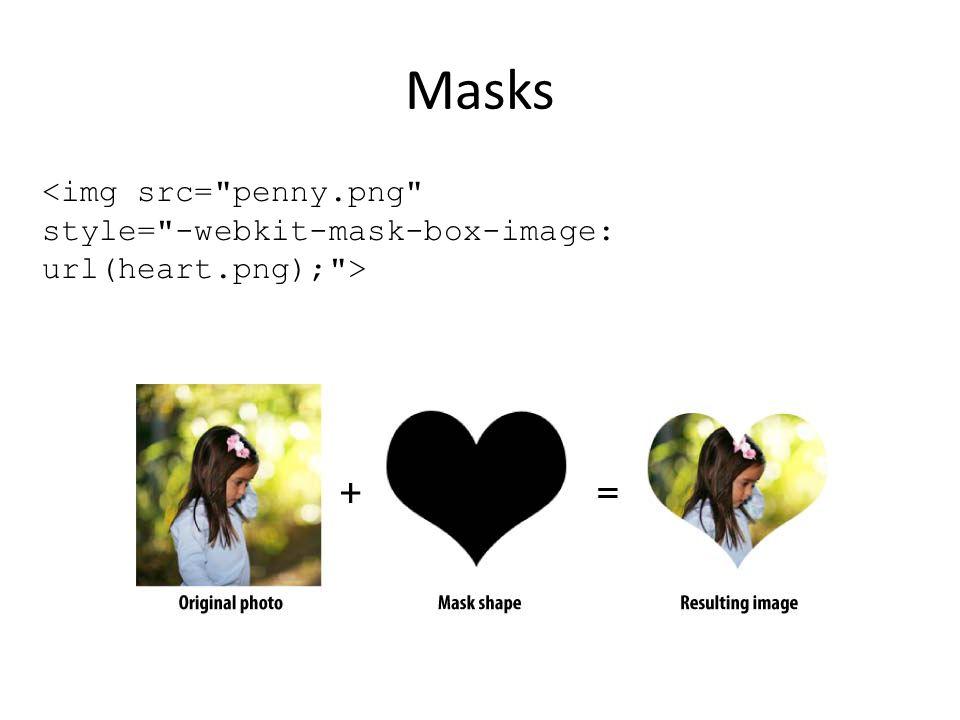 Masks <img src=