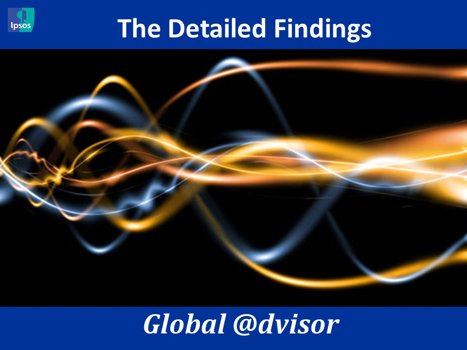20 A Global @dvisory – July 2012 – G@34 The Economic Pulse The Detailed Findings Global @dvisor