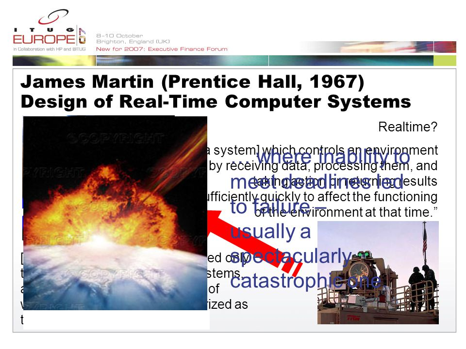 James Martin (Prentice Hall, 1967) Design of Real-Time Computer Systems Realtime.