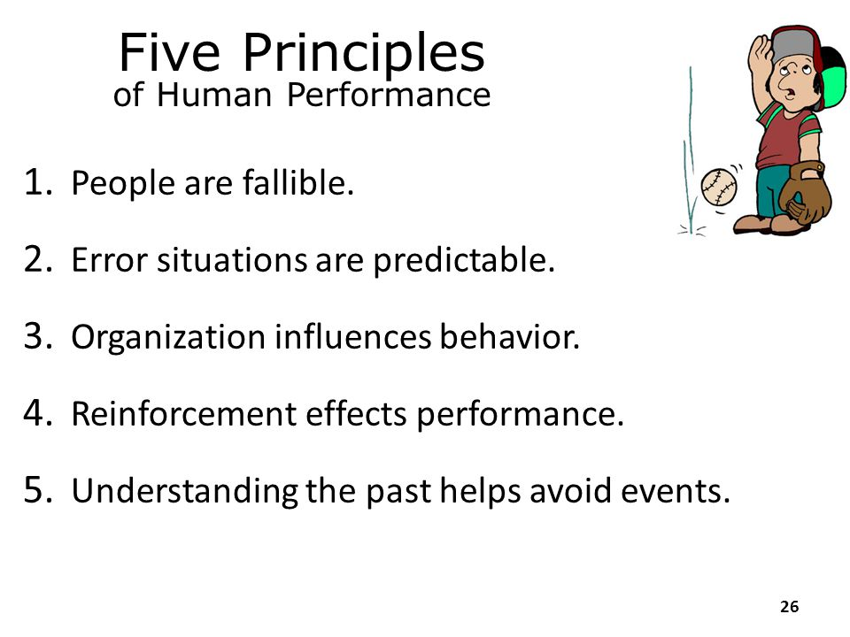Module 2 Human Performance Concepts and Principles 25