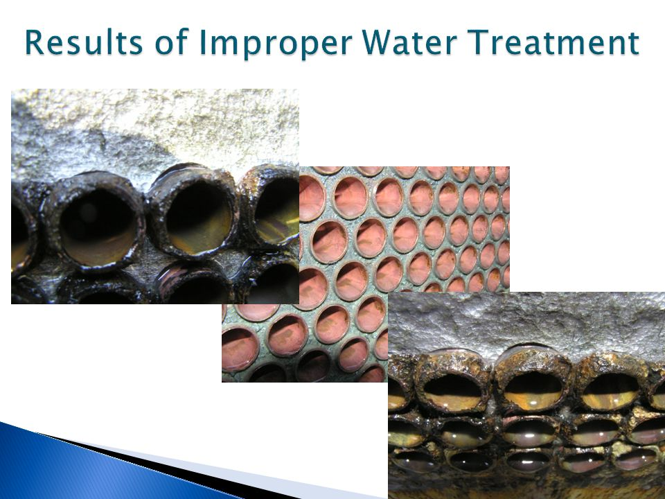 Results of Improper Water Treatment ..