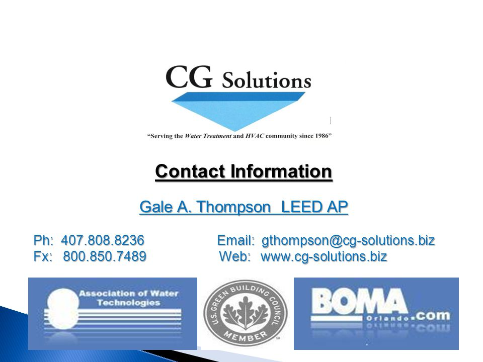 Contact Information Gale A.