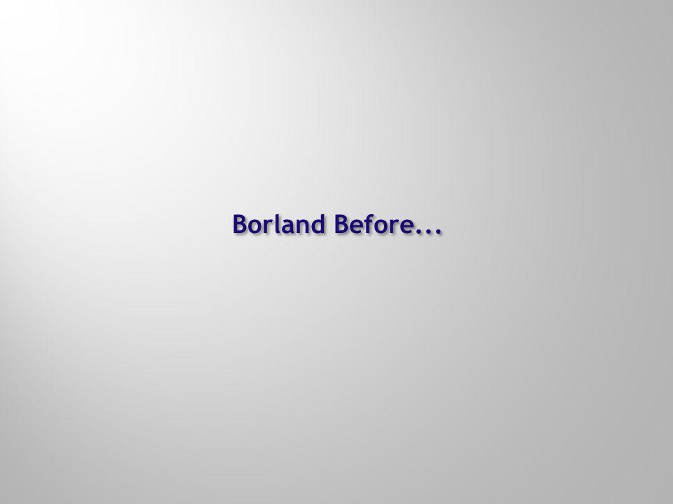 Borland's Neutral Platform