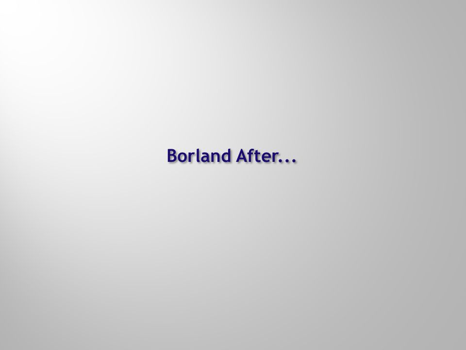 Borland After...