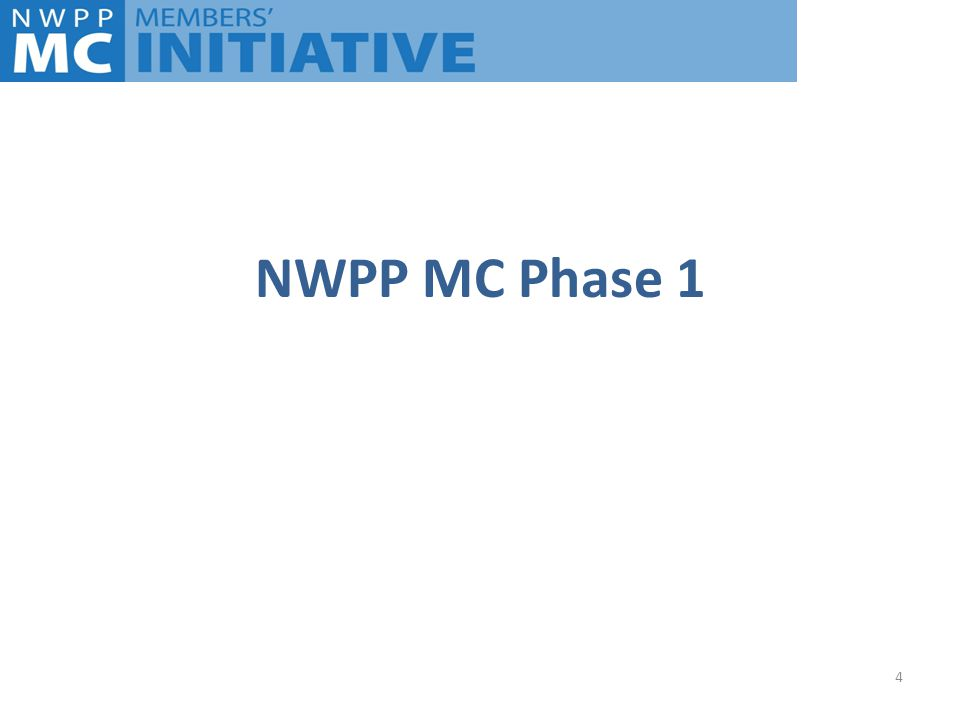 NWPP MC Phase 1 4