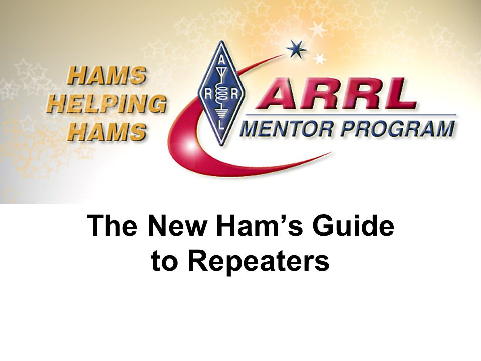 The New Ham's Guide to Repeaters