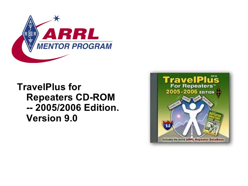 TravelPlus for Repeaters CD-ROM -- 2005/2006 Edition. Version 9.0