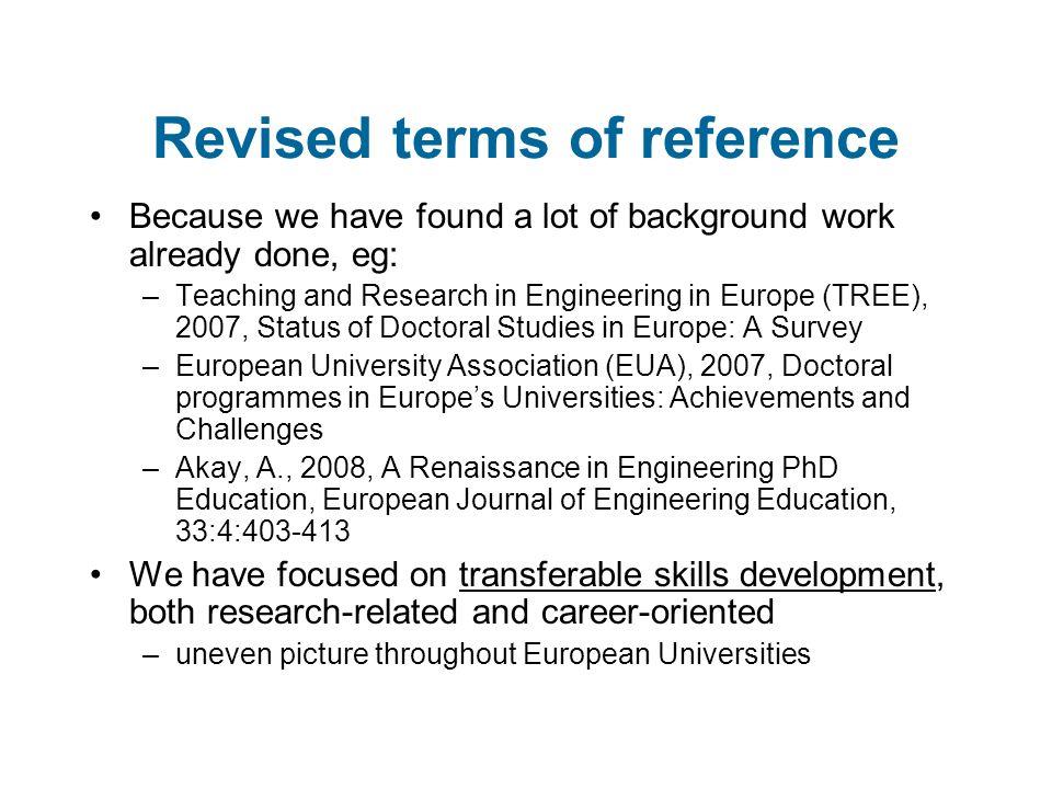 Skills categories Arenberg Doctoral School, KU Leuven