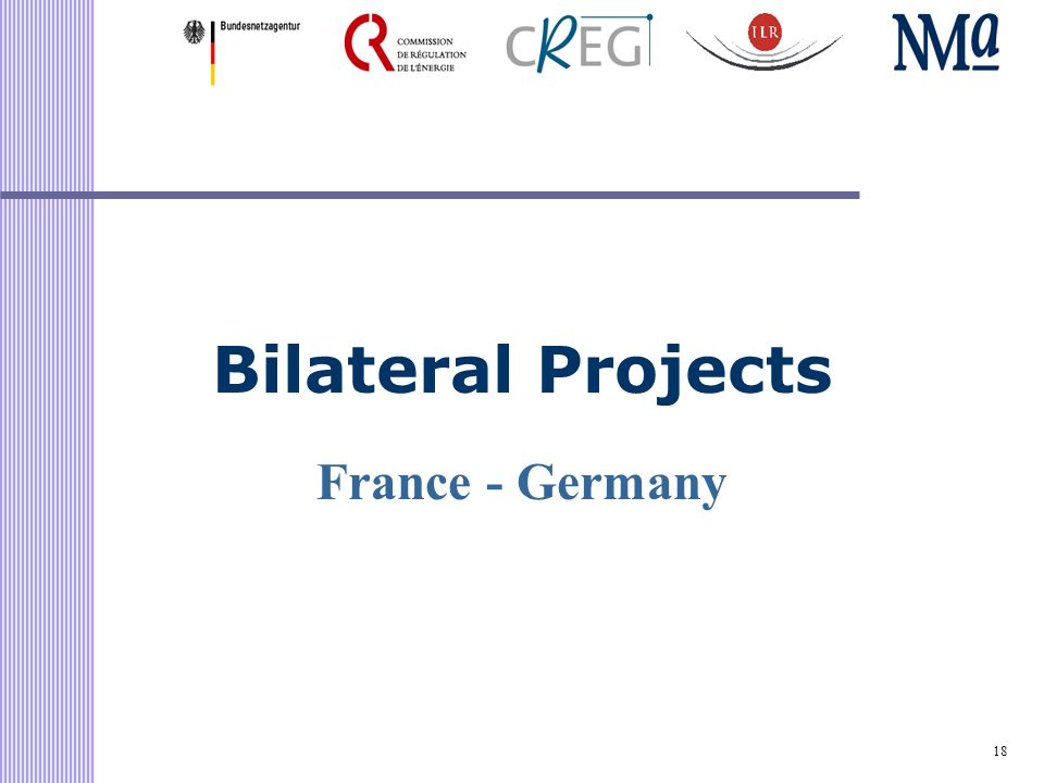 18 Bilateral Projects France - Germany