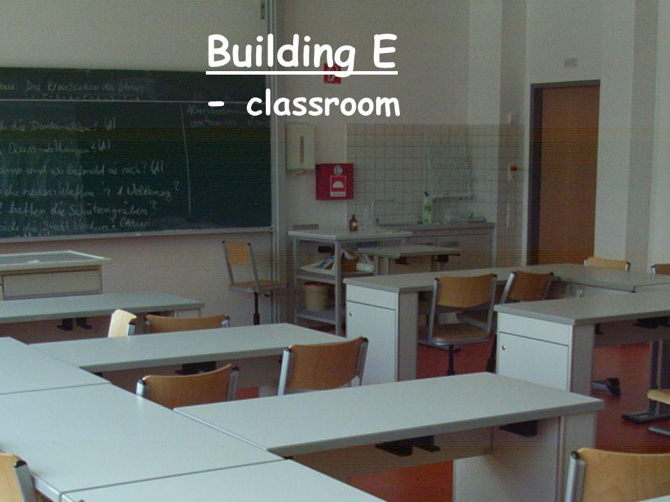 Building E - classroom