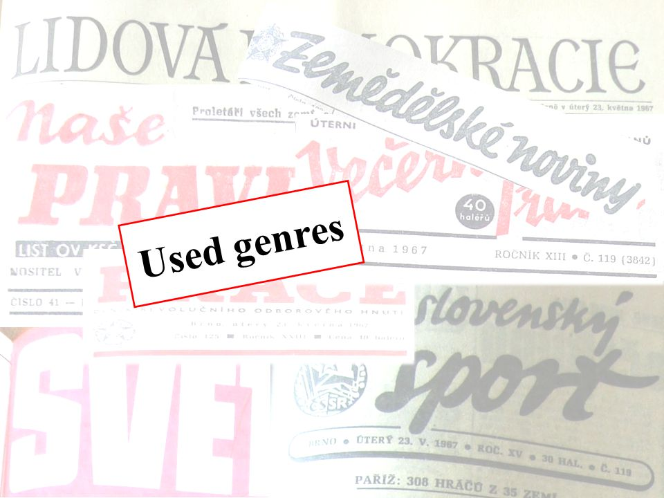 Used genres