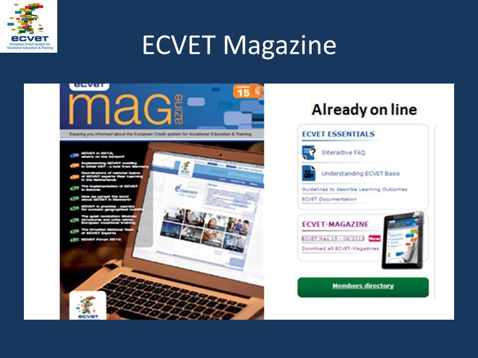 ECVET Magazine