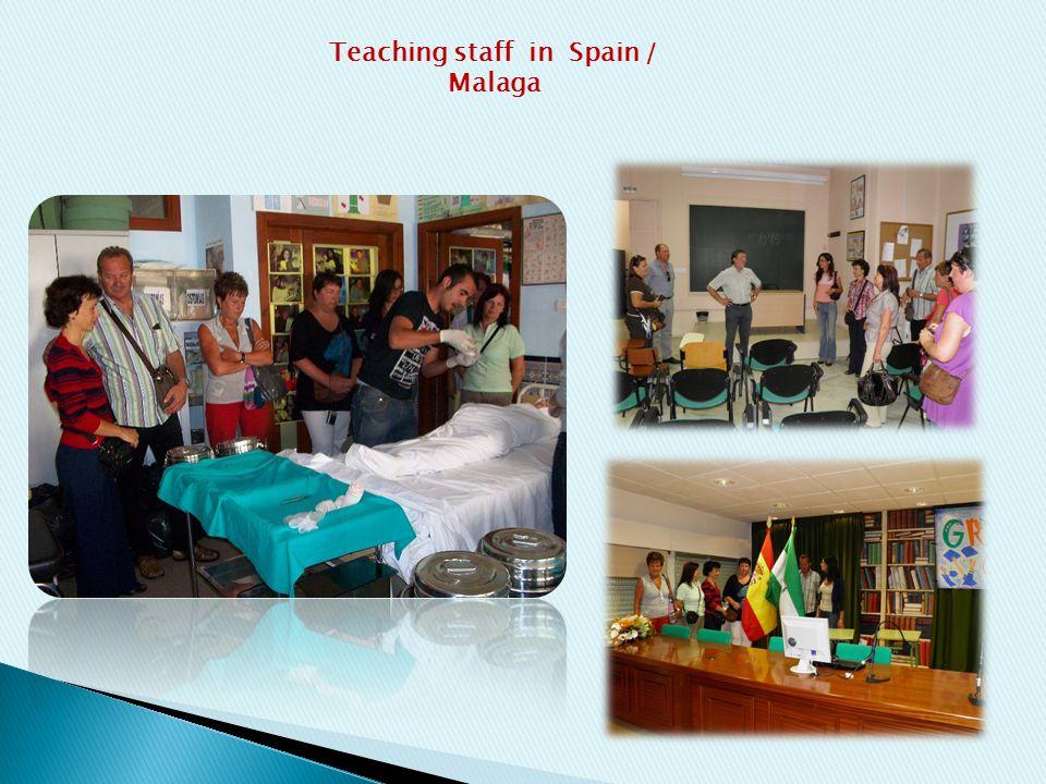 Teaching staff in Spain / Malaga