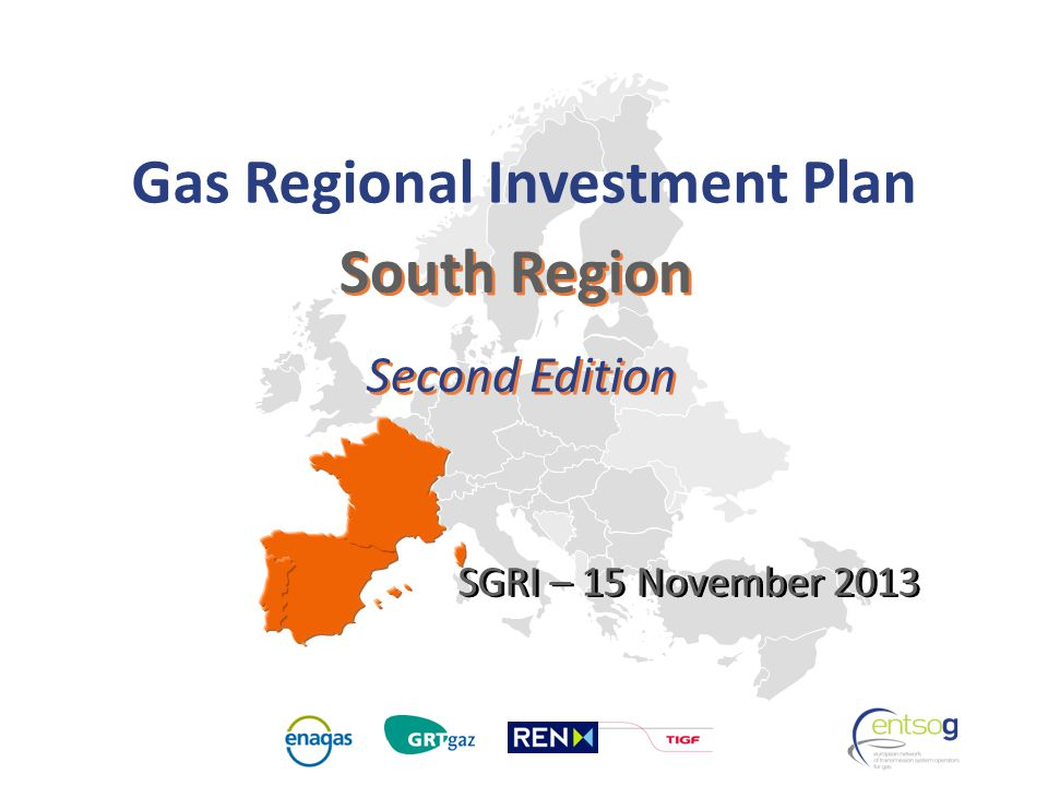 GRIP South South Region Second Edition Gas Regional Investment Plan SGRI – 15 November 2013
