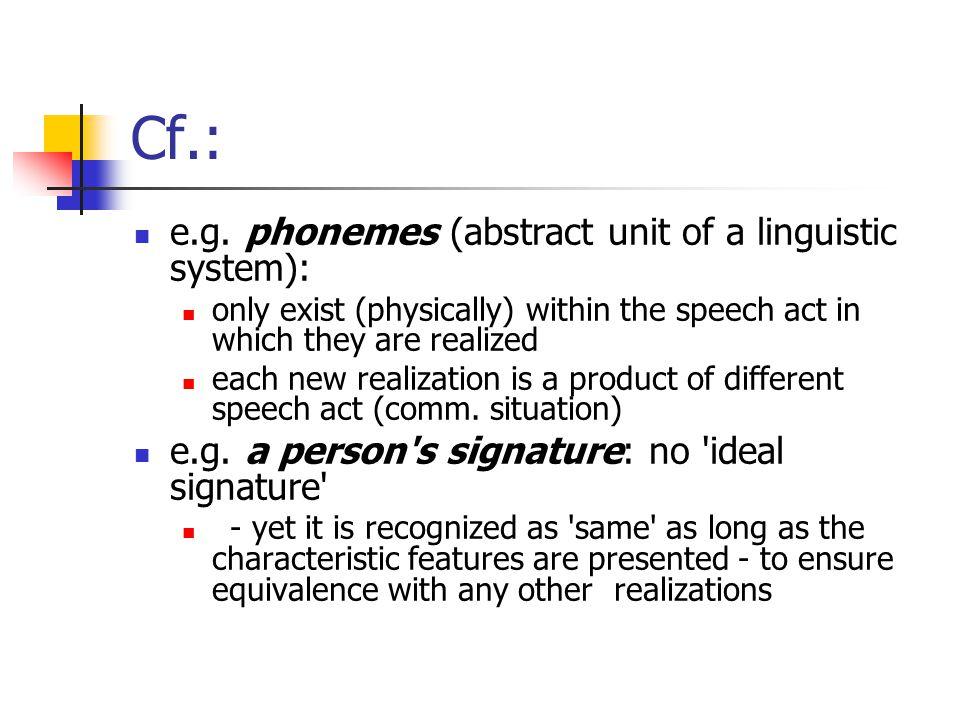 Cf.: e.g.