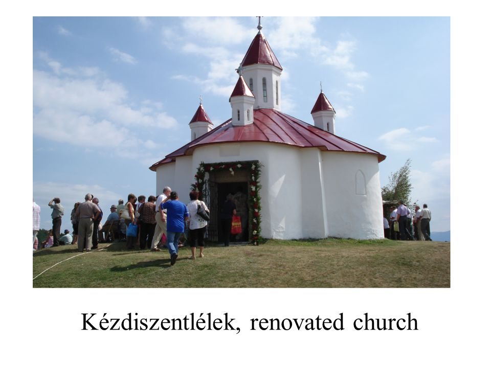Kézdiszentlélek, renovated church