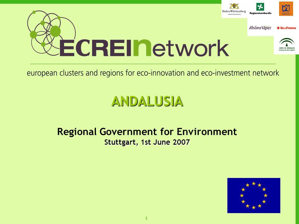 11 ANDALUSIA Regional Government for Environment Stuttgart, 1st June 2007