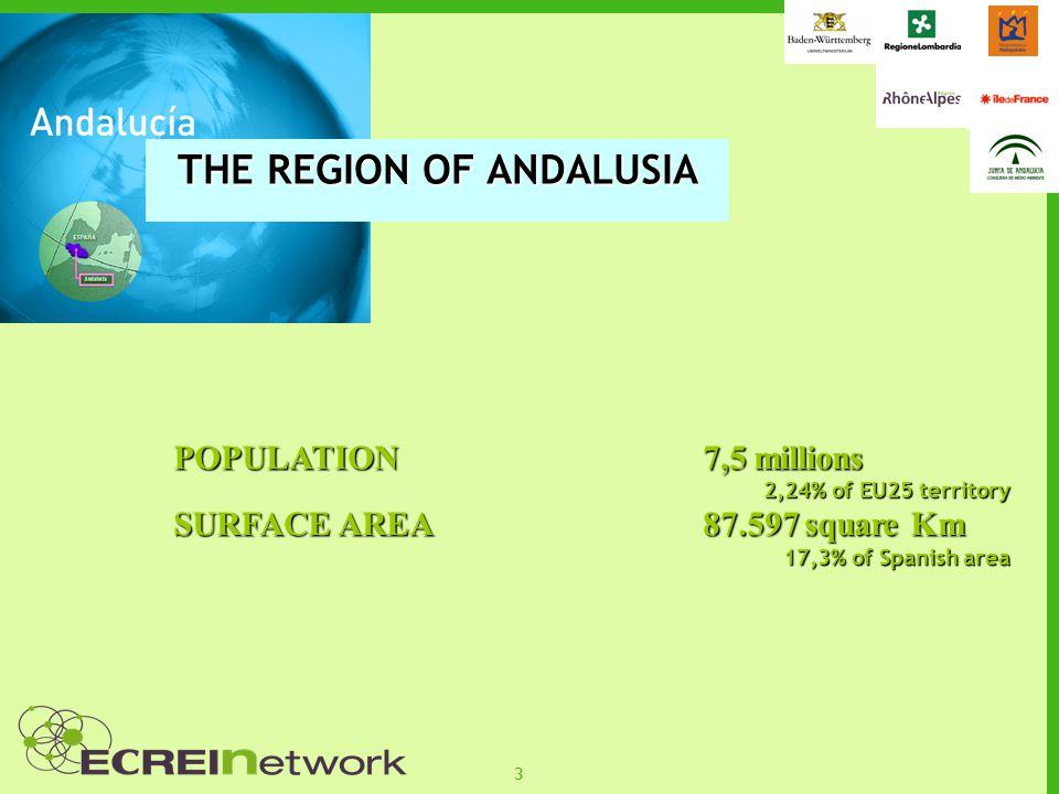 34 MAIN CONCLUSIONS DERIVED FROM PRE- ANDALUSIA To reinforce the dissemination of information by public administrations and private agents, such as business associations.