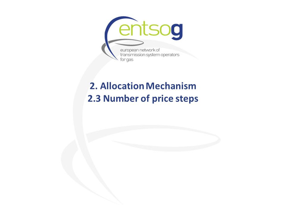 2. Allocation Mechanism 2.3 Number of price steps