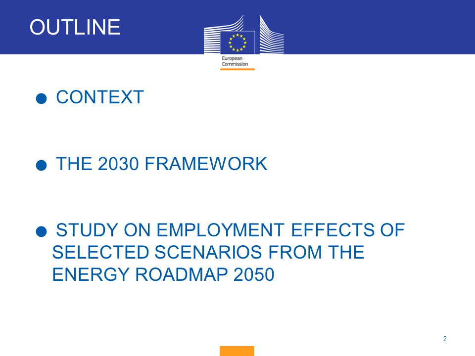 13 Energy A 2030 framework for climate and energy policies 22 January 2014 EC proposal