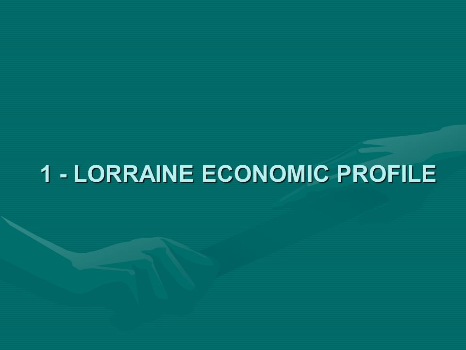 1 - LORRAINE ECONOMIC PROFILE