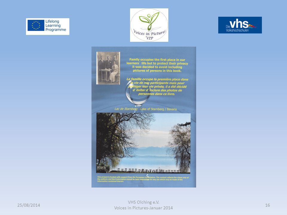 25/08/2014 VHS Olching e.V. Voices in Pictures-Januar 2014 16