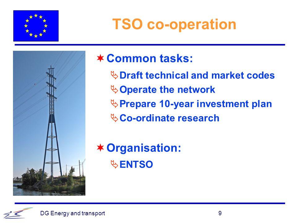 DG Energy and transport20 Retail market
