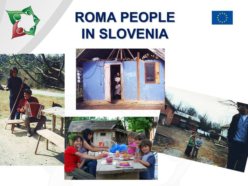 ROMA PEOPLE IN BELA KRAJINA