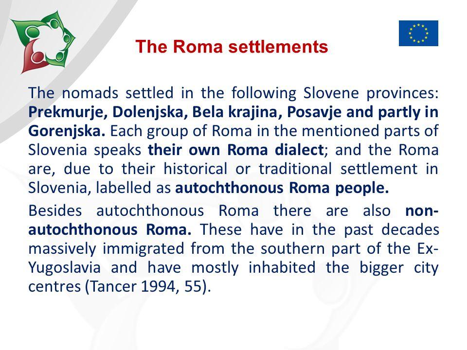 Population of Roma in Slovenia Source: Štrukelj 2004, 27