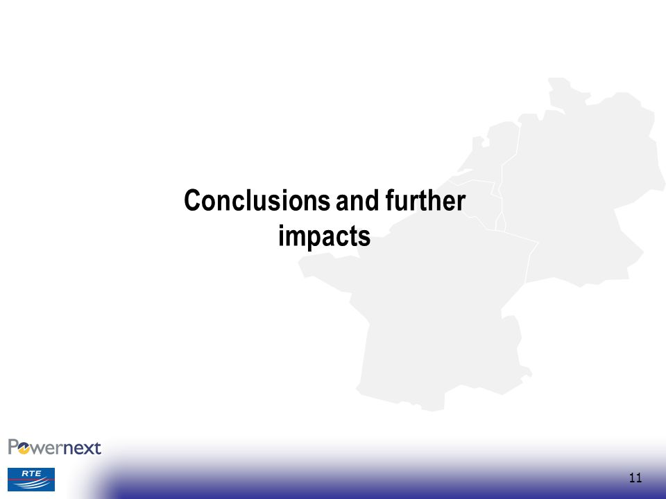 11 Conclusions and further impacts