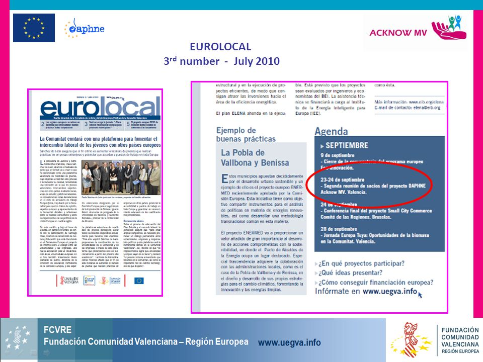 EUROLOCAL 3 rd number - July 2010