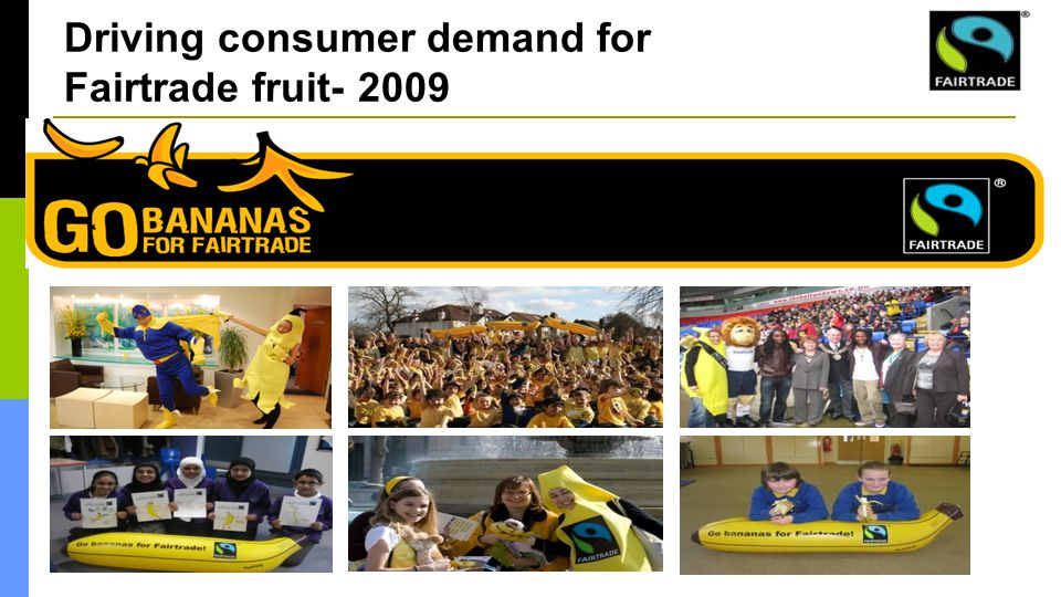 Driving consumer demand for Fairtrade fruit- 2009