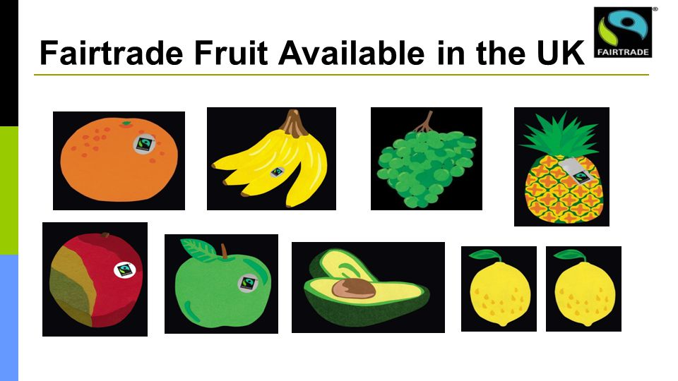 Fairtrade Fruit Available in the UK
