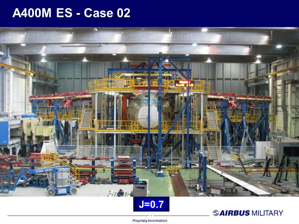 Propriety Information A400M ES - Case 02 J=1.5 0