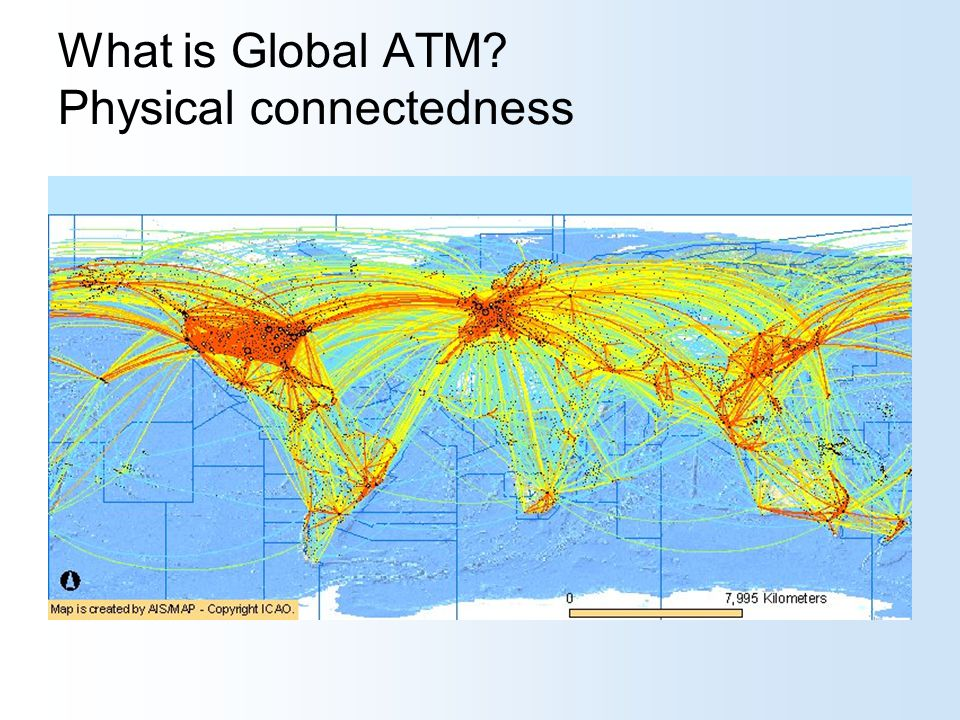 What is Global ATM? Physical connectedness