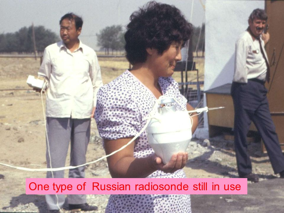 Page 17© Crown copyright 2004 One type of Russian radiosonde still in use