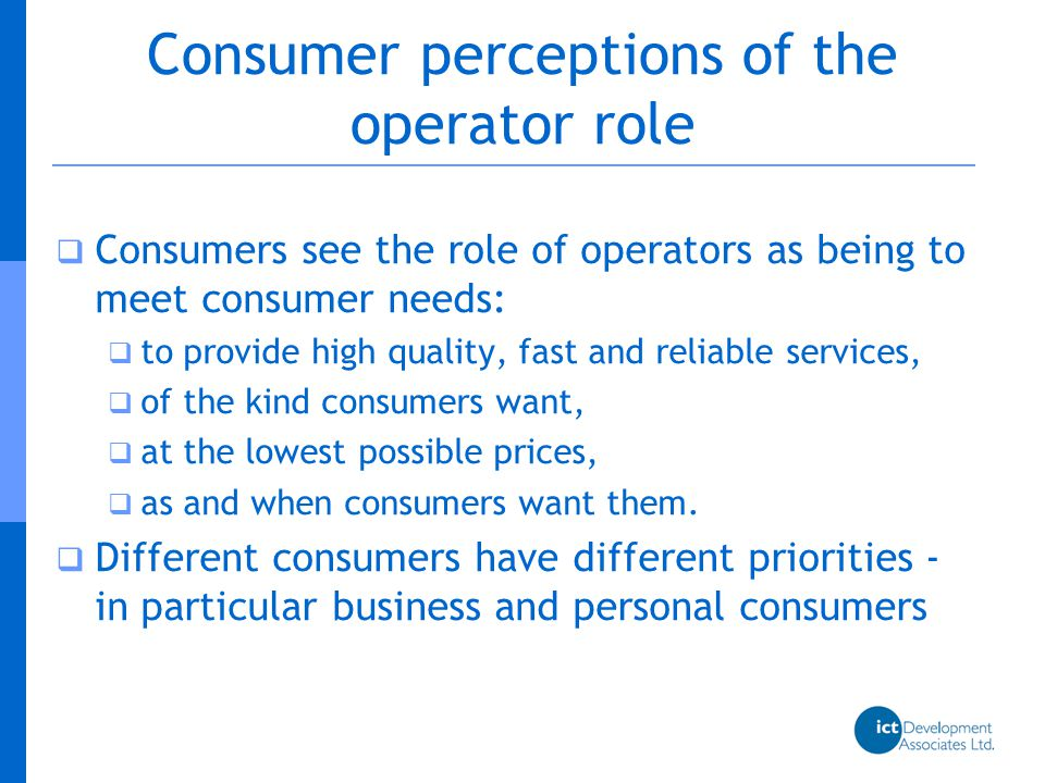  Competition in telecommunications is necessarily associated with cooperation between competitors  because of the necessity for interconnection  because of new imperatives for infrastructure sharing  Non-dominant operators see the role of dominant operators as being (inter alia) the provision of access to them on fair terms Operator interaction
