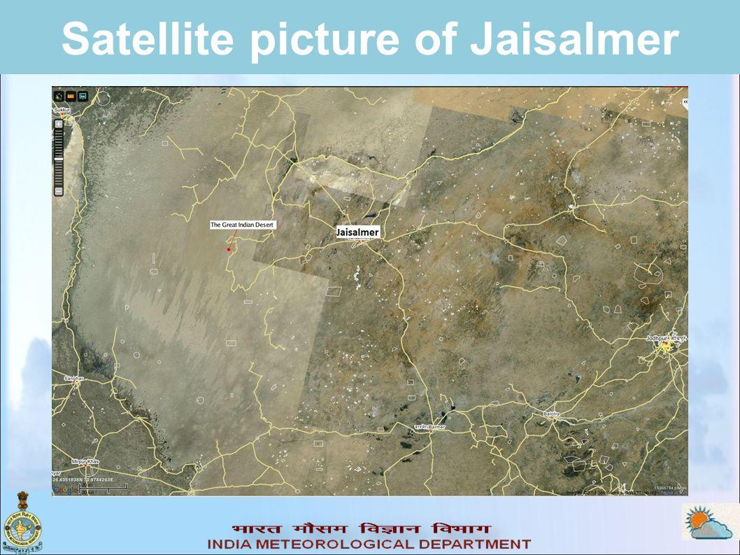Satellite picture of Jaisalmer