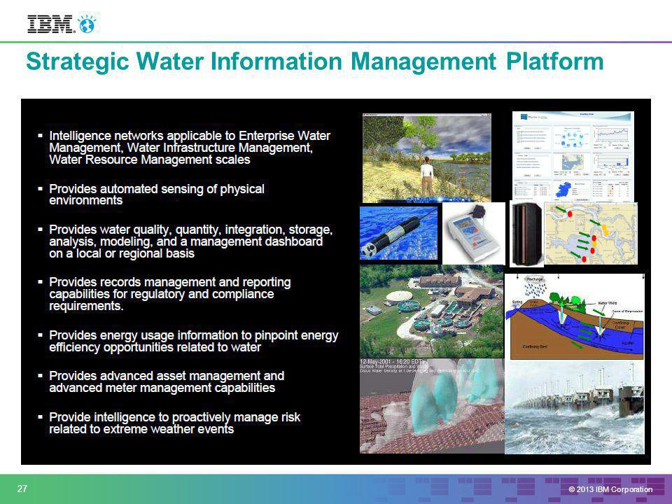 Strategic Water Information Management Platform 27