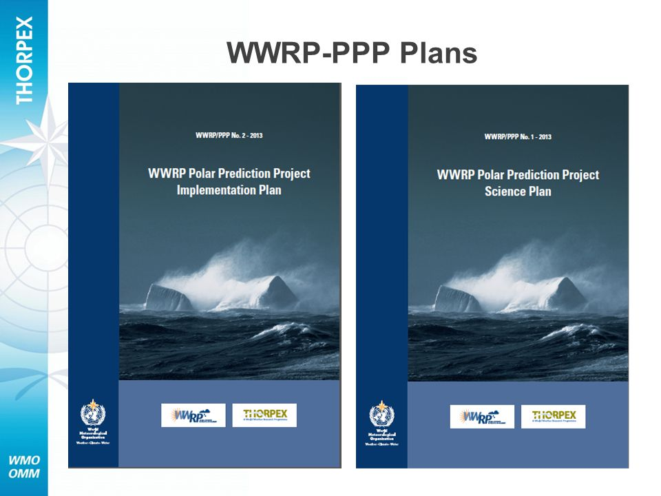 WWRP-PPP Plans